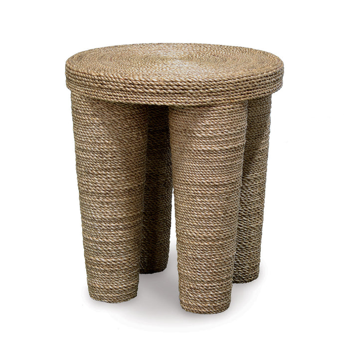 Wrapped Rope Footed Stool / Side Table