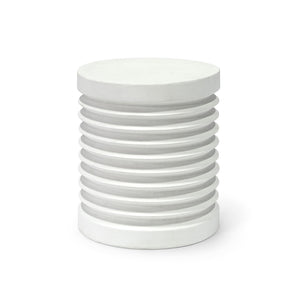 Pompeii Outdoor Stool/Table, White