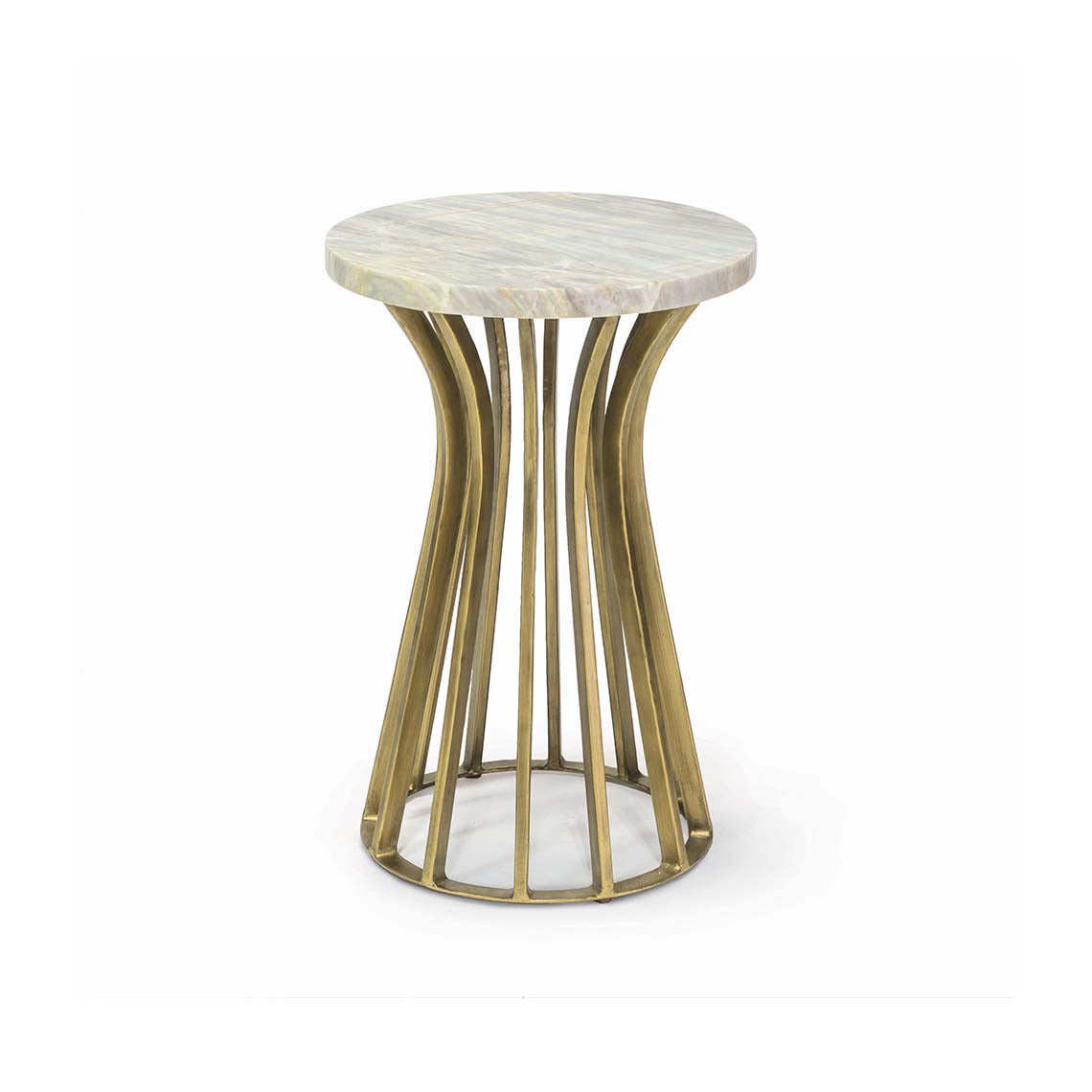 Delphi Marble Side Table