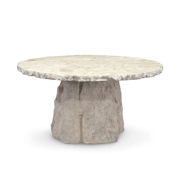 Camilla Fossilized Clam Dining Table
