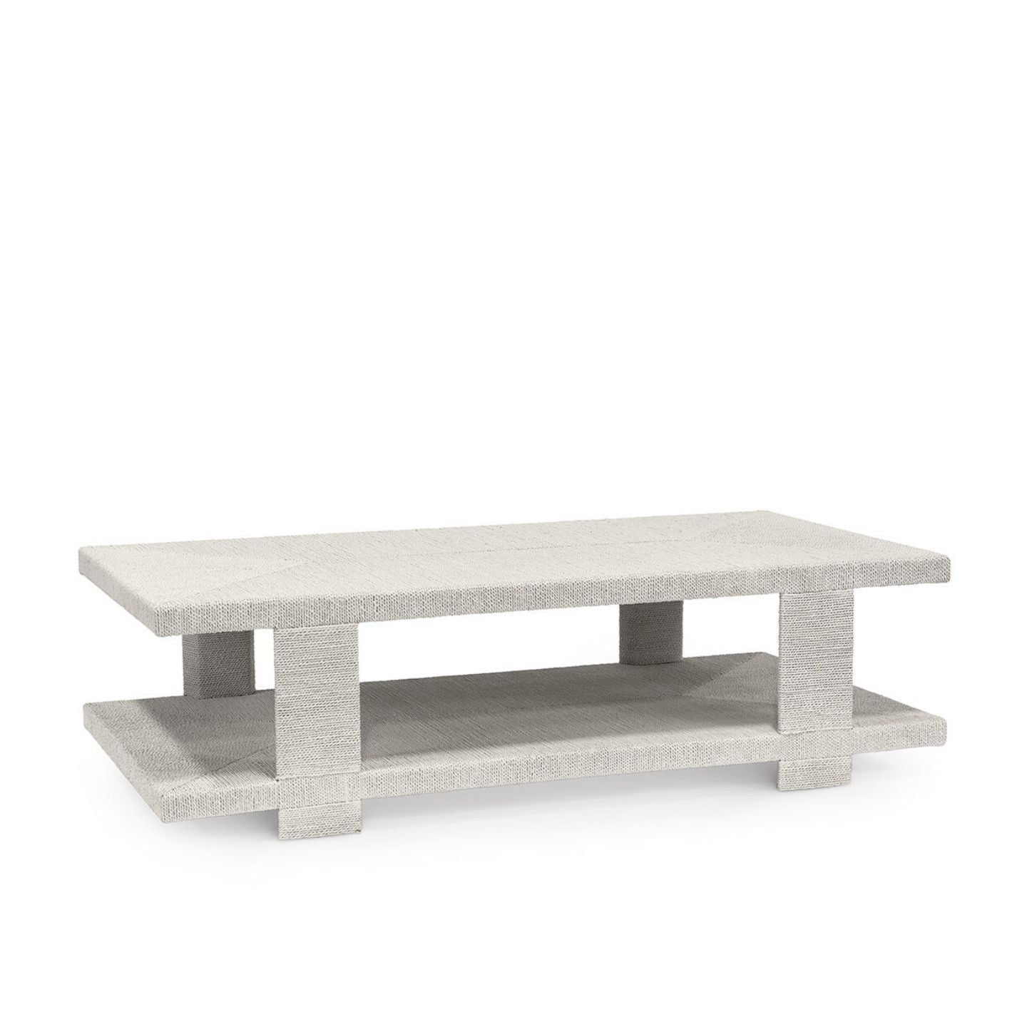 Clint Coffee Table, White Sand