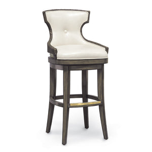 "Rhodes 30"" Barstool, Medium Grey"