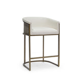 "Load image into Gallery viewer, Donovan 24"" Counter Barstool, Gold"