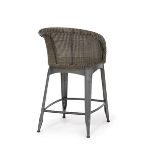 "Navy Outdoor 24"" Counter Barstool"