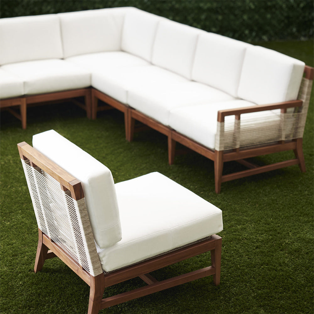 Load image into Gallery viewer, Amalfi Outdoor Sectional Armless