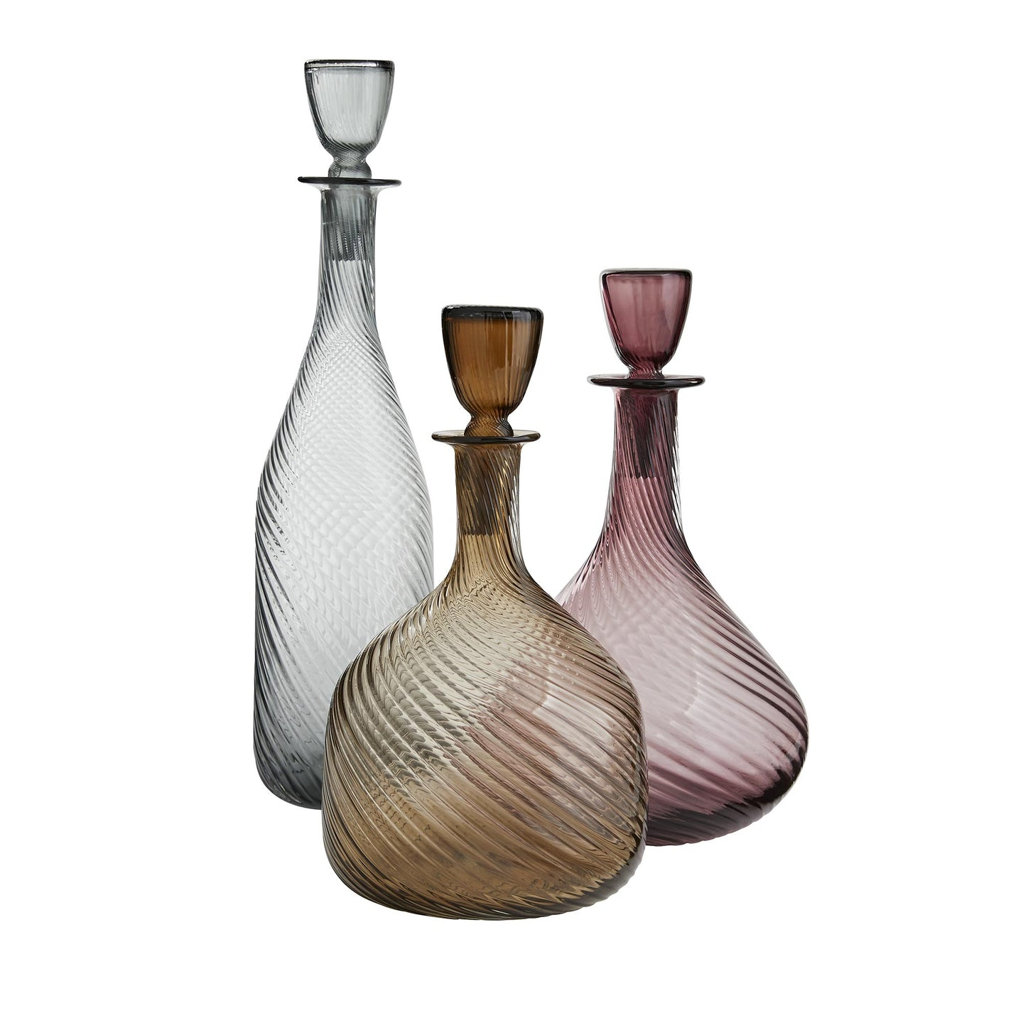 Stella Decanters Set of 3