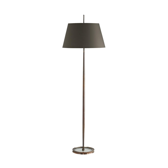 Malin Floor Lamp - Heritage Brass