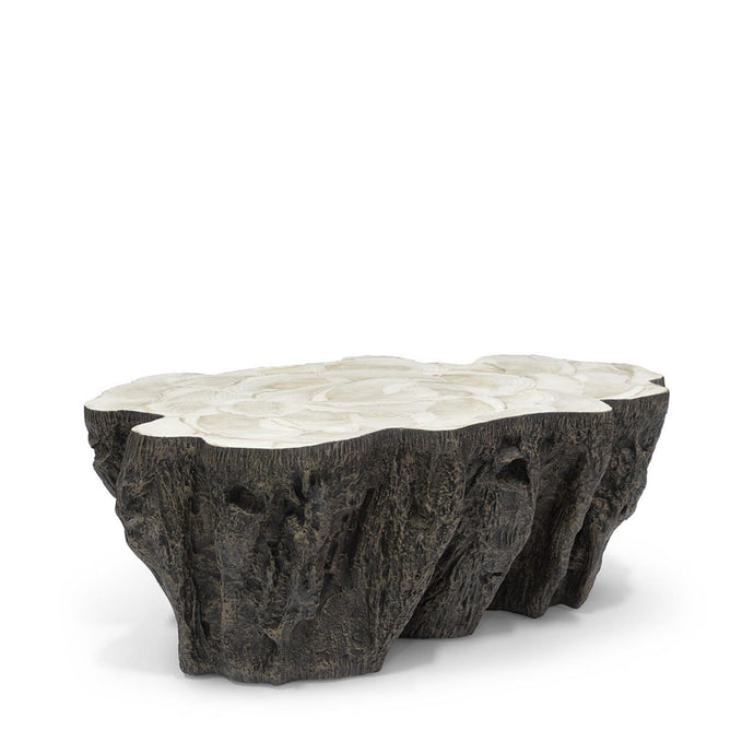 Chloe Fossilized Clam Coffee Table