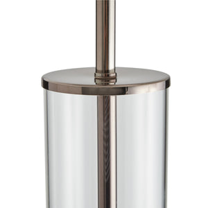 Norman Floor Lamp - Brown Nickel