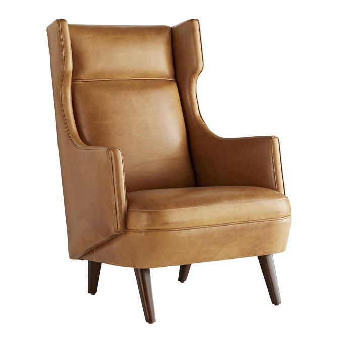 Budelli Wing Chair Cognac Leather