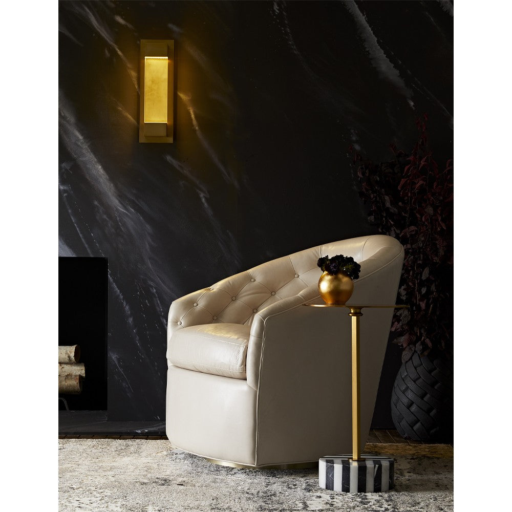 Load image into Gallery viewer, Capri Chair Flint Leather