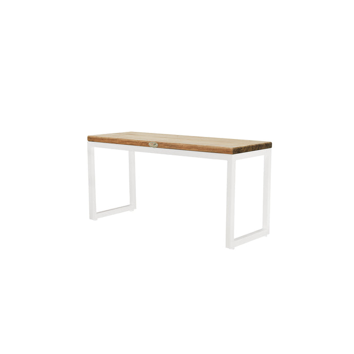 Nautic Rectangular Side Table - White Wash
