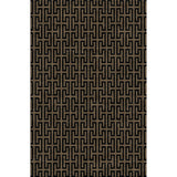 Load image into Gallery viewer, Scout Black / Gold Rug
