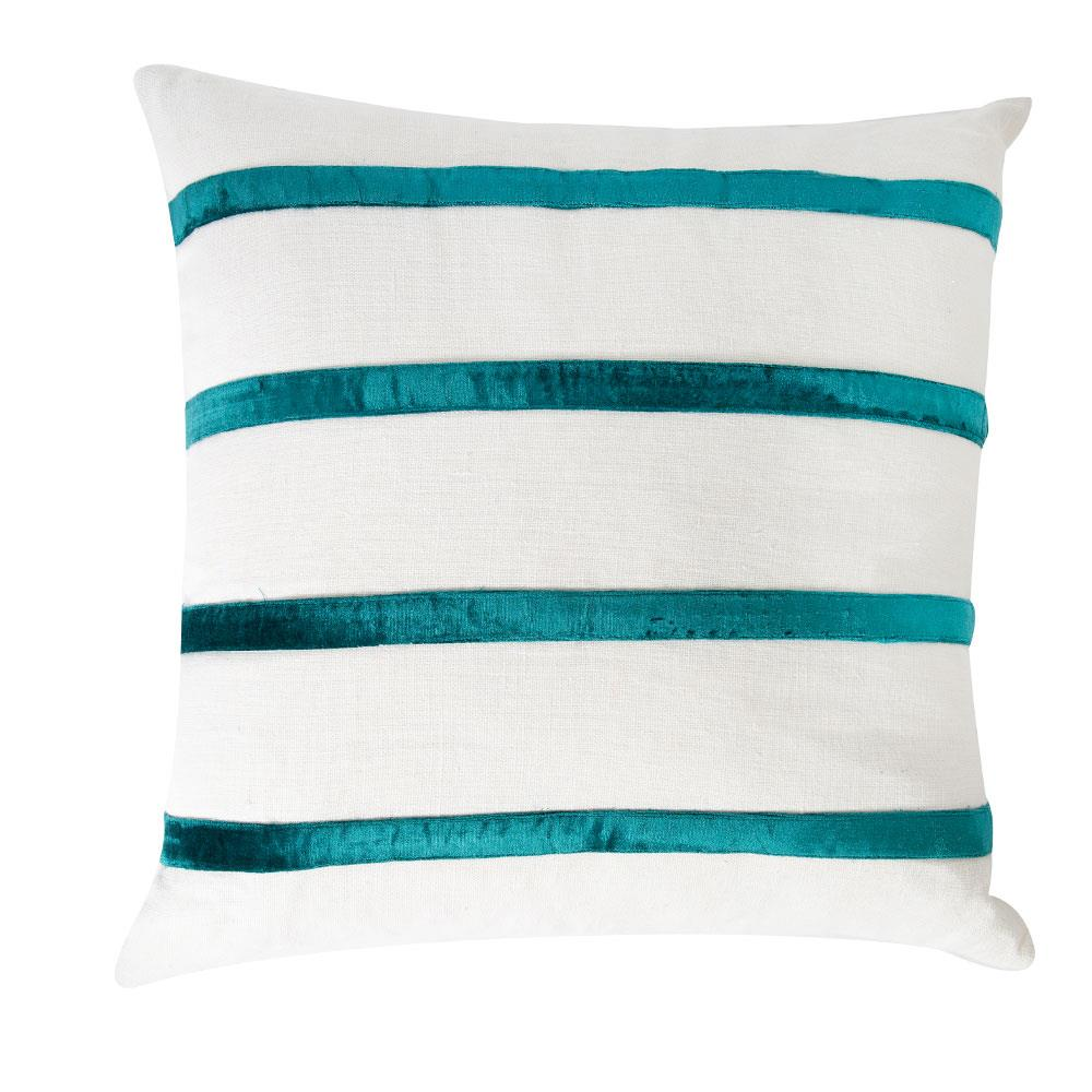 Boulevard Teal Stripe Stripe Scatter Cushion