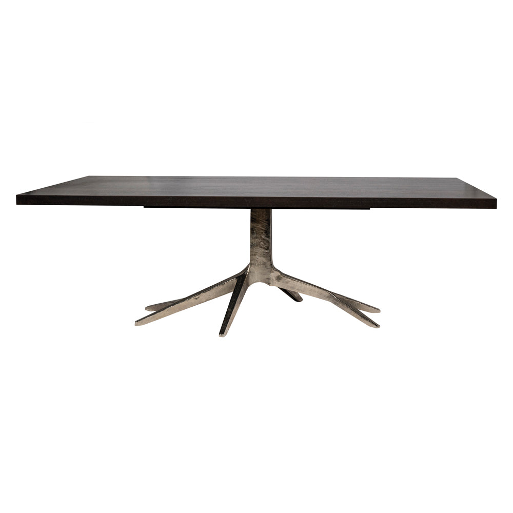 Fifth Avenue Dining Table - Nickel