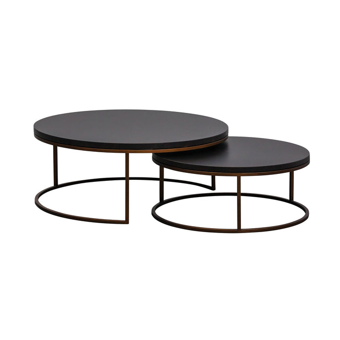 Kanta Nested Cocktail Tables - Midnight