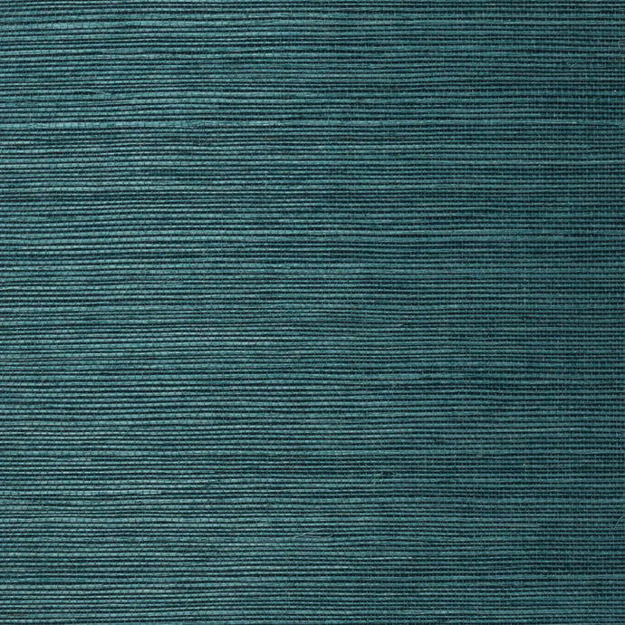 Peacock Grassweave Wallpaper