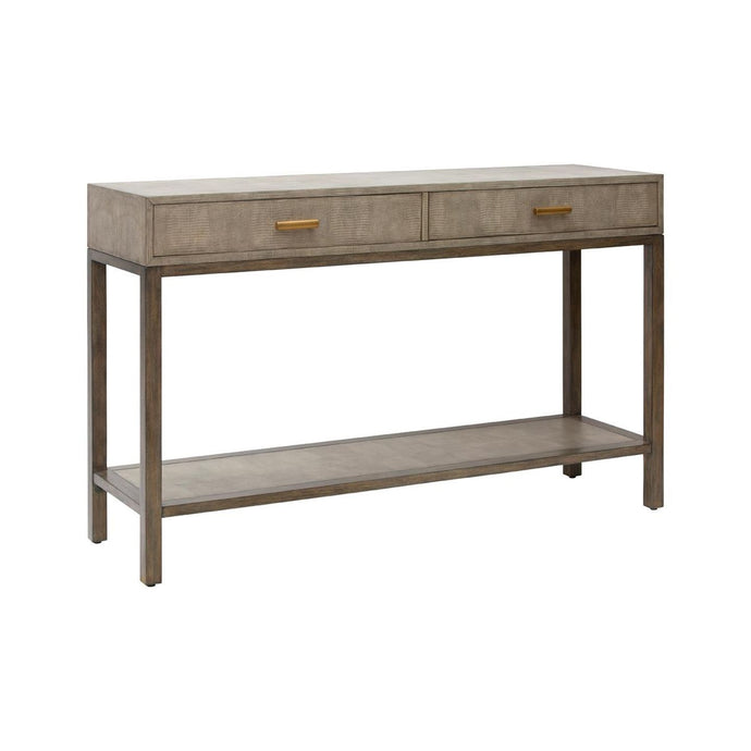 Clifton Console - Lizard - 2 Drawer