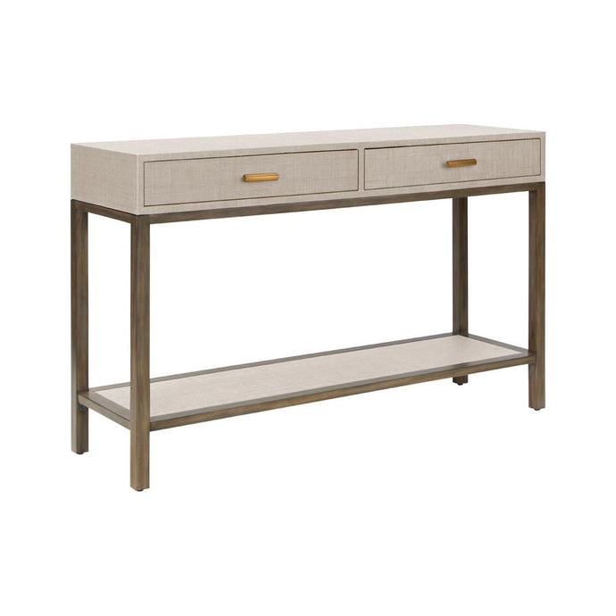 Clifton Console - Pumice - 2 Drawer