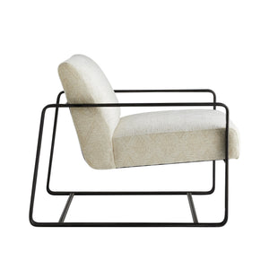 Vince Lounge Chair Frost Chenille
