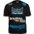 STRYKER FIGHT GEAR BLOOD SPLAT MMA UFC WALKOUT SHIRT BLACK BLUE WHITE LOGOS