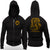 Cobra Kai Karate Kid Netflix Series No Mercy Chest Logo Adult Zip Up Hoodie