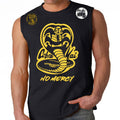 Cobra Kai No Mercy 80's youtube show Karate kid ufc mma striker Muscle Tank Top Black