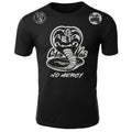 Cobra Kai No Mercy The Karate Kid MMA Fighters Adult T-Shirt Black