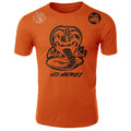 Cobra Kai No Mercy The Karate Kid MMA Fighters Adult T-Shirt Orange
