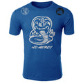 Cobra Kai No Mercy The Karate Kid MMA Fighters Adult T-Shirt Royal Blue