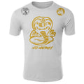 Cobra Kai No Mercy The Karate Kid MMA Fighters Adult T-Shirt White