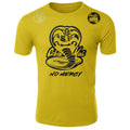 Cobra Kai No Mercy The Karate Kid MMA Fighters Adult T-Shirt Yellow