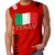 ITALY SOCCER MMA MENS MUSCLE SHIRT Red