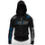 JIU JITSU STRYKER FIGHT GEAR STARS ADULT NATE DIAZ FULL ZIP-UP HOODIE