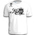 KING MENS ADULT FUNNY T-SHIRT WHITE