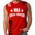 UFC MMA CAGE FIGHTER MENS MUSCLE SHIRT RED