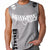 MUAY THAI FIGHTING STRYKER MMA MENS MUSCLE SHIRT GRAY