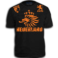 NEDERLAND ADULT FIFA WORLD CUP SOCCER FLAG T-SHIRT