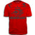 NEDERLAND ADULT FIFA WORLD CUP SOCCER FLAG T-SHIRT RED