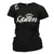 QUEEN WOMENS ADULT FUNNY T-SHIRT BLACK