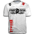 STRYKER FIGHT GEAR TWISTED SKULL MMA T-SHIRT