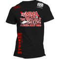 STRYKER IF MMA WAS EASY THEY WOULD CALL IT BOXING UFC T-SHIRT BLACK RED WHITE LOGOS