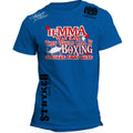 STRYKER IF MMA WAS EASY THEY WOULD CALL IT BOXING UFC T-SHIRT ROYAL