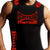 STRYKER FIGHT GEAR ADULT MMA MUSCLE SHIRT BLACK