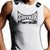 STRYKER FIGHT GEAR ADULT MMA MUSCLE SHIRT WHITE