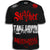 Stryker Fight Gear Y MMA GLOVES Takedown Fight Gear Skulls Muay Thai Fighting BJJ Walkout T-Shirt BLACK