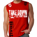 TAKEDOWN FIGHT GEAR MMA MENS MUSCLE SHIRT