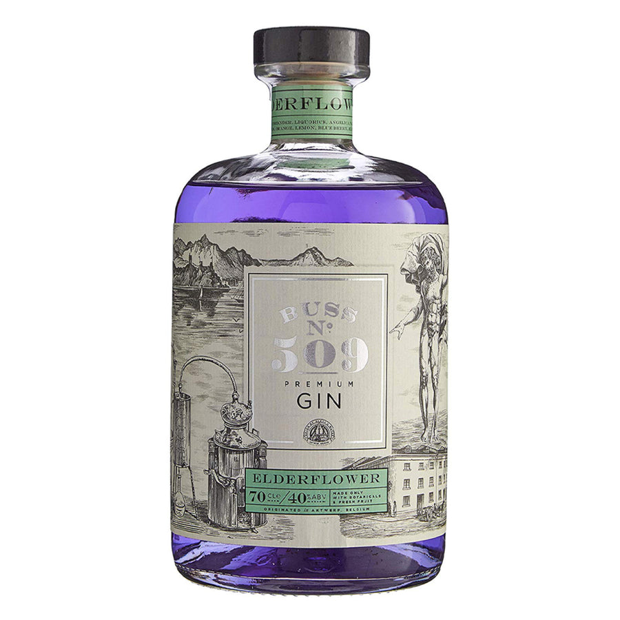 BUSS 509 - Belgian Elderflower Gin 40%