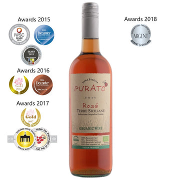 The wine people (TWP), Purato Rosato Terre Siciliane BIO 2015