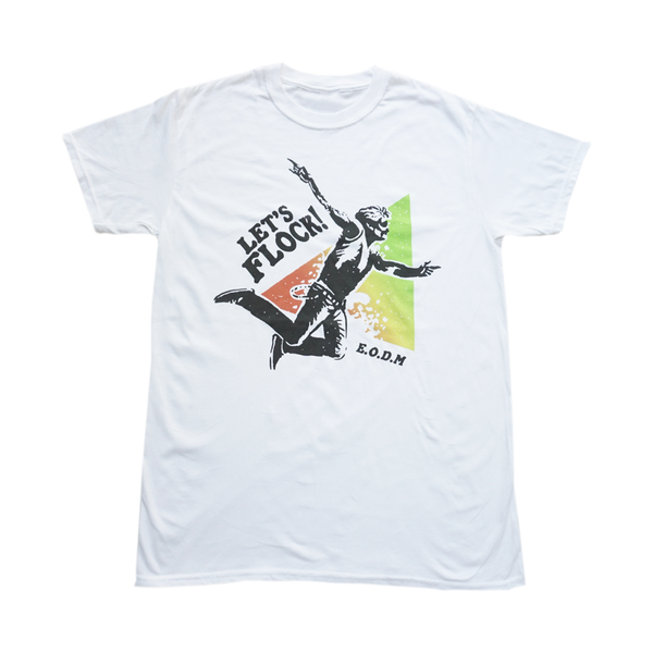Lets Flock T-shirt White